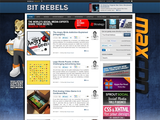 Check out Bit Rebels